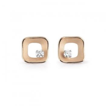 annamaria cammilli diamantohrstecker quadratisch
