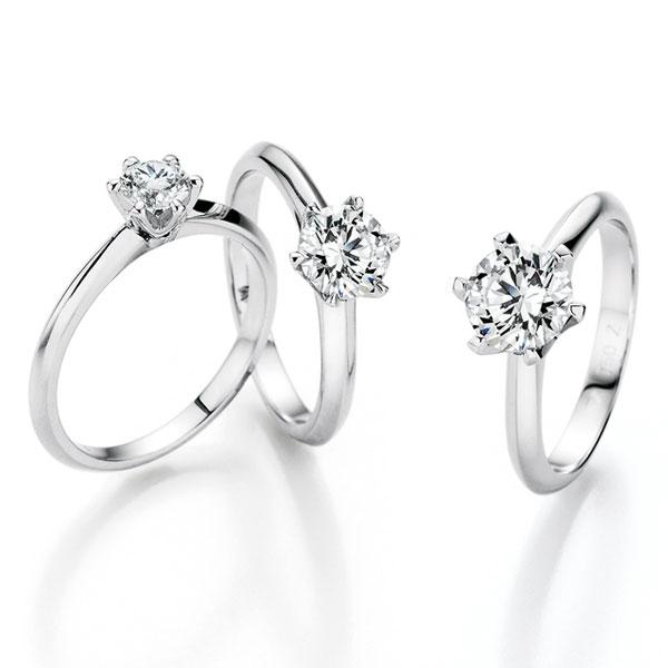 die außergewöhnliche Schönheit unserer Verlobungsringe ist das Ergebnis höchster Qualitätsstandards Solitaire Ringe 6er. setting