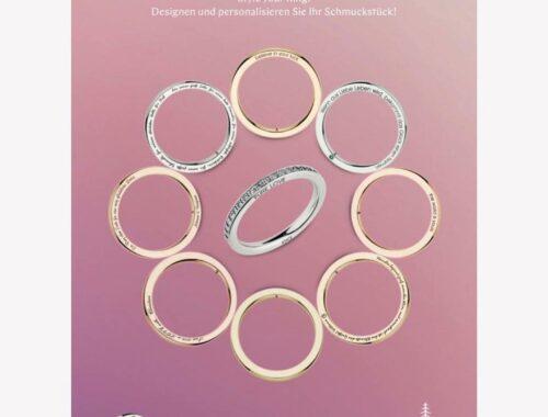 Designen und personalisieren Sie Ihren Ring